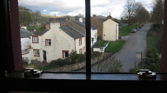 Hall Croft: view from our window - downtown Dufton