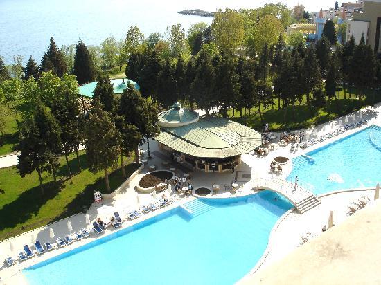Sol Nessebar Palace: hotel pool