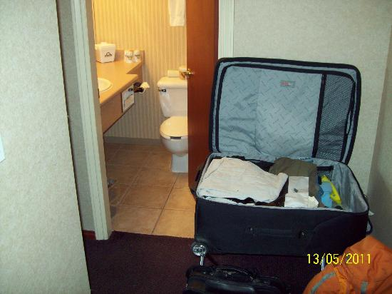 Days Inn - Vancouver Airport: A little tight.