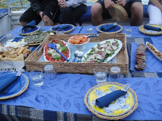 Angelo's Boat Tours: The food!