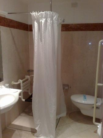 The Regency Hotel: Room 101, bathroom - for disabled? must have been looking tired :)