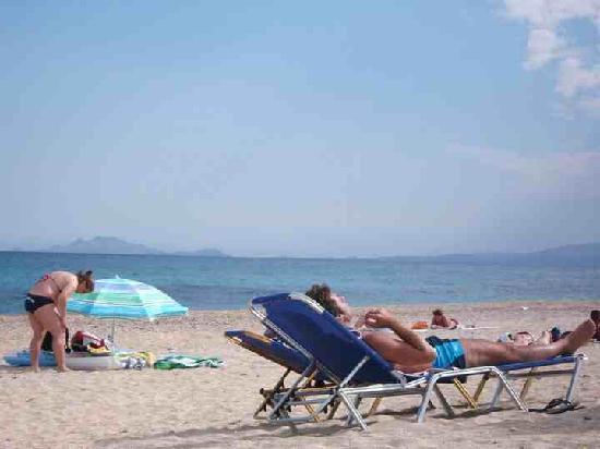 Anassa Hotel: Beach