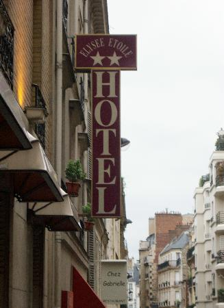 Hotel Elysee Etoile: You have arrived!