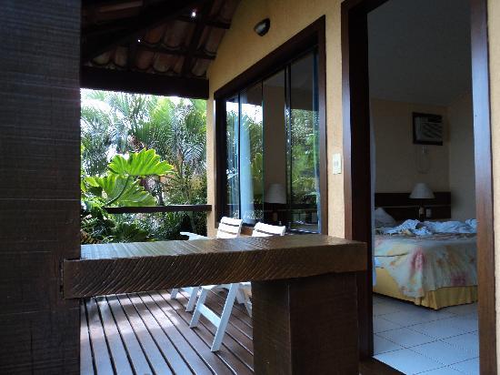 Hotel Ville La Plage: balcón de la habitación