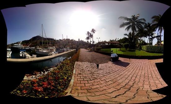Grand Isla Navidad Resort: Marina panorama