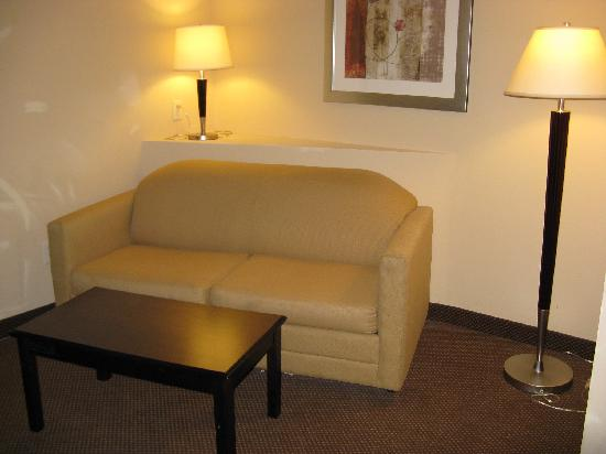 Comfort Suites - Forsyth : Sitting Area