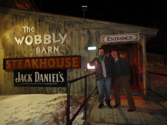 Wobbly Barn Steakhouse : If you want an excellent meal - head on over to the Wobbly Barn!