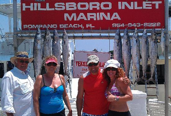 Killin' Time Charters: Our charter's catch