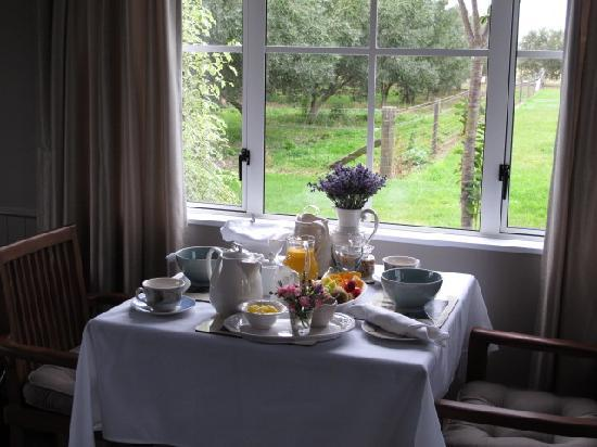 Hillsfield House Bed and Breakfast Marlborough: Our breakfast