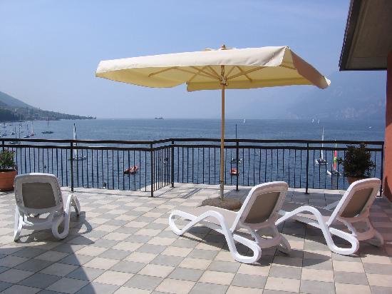 Hotel Rosa: Terrazza
