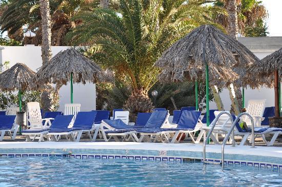Yaiza, Spagna: Pool area