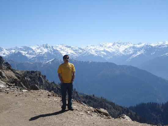Shimla, Indien: at top 3750 mtrs