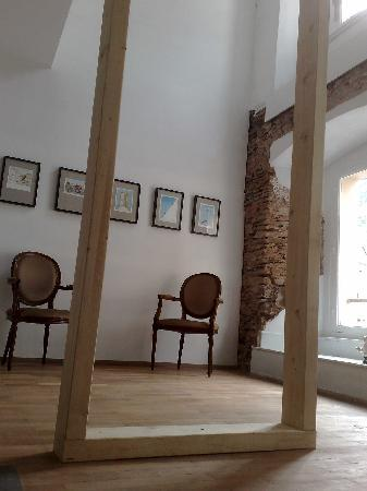 Musee de la caricature et du cartoon Vianden : interieur
