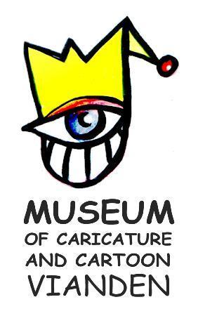 Musee de la caricature et du cartoon Vianden : logo musee