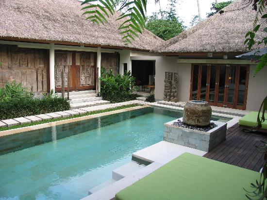 The Purist Villas and Spa: The pool area