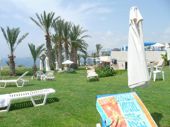 Queen's Bay Hotel: loverly grass areas
