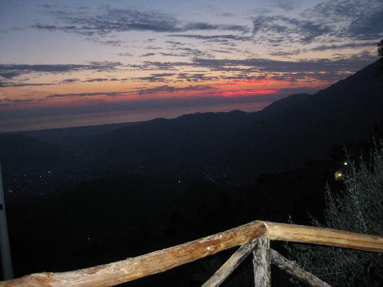 Napiaia Bed & Breakfast: tramonto