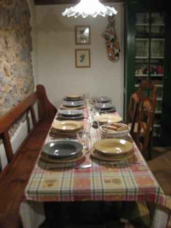 Napiaia Bed & Breakfast: cena con amici