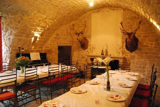 Château de Montalègre : Salle à manger