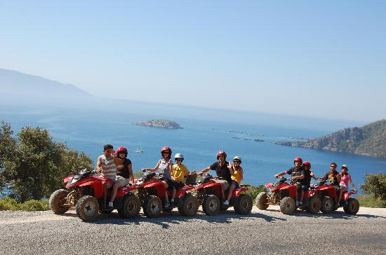 Caretta Apart Hotel: Out Quad biking around Turkey