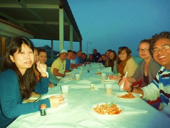 Gianni House: Pasta Party on the Wonderful Terrace