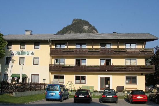 Hotel Stefanihof: das Hotel