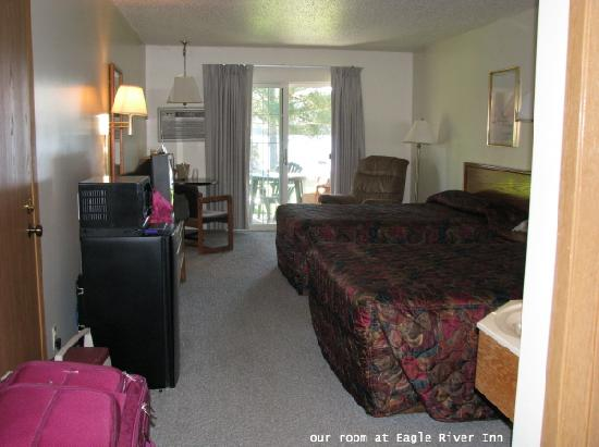 Eagle River Inn & Resort: our room