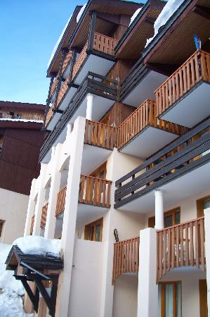 Residence Odalys La Licorne: entrée