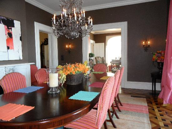 E.B. Morgan House: Dining Room