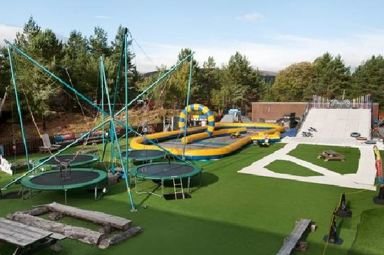 Outdoor activity park picture of hilton coylumbridge for Pool show discovery