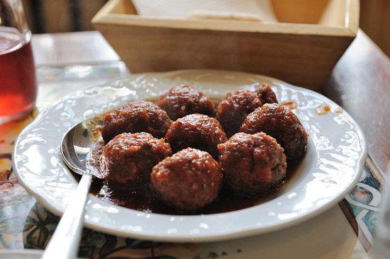 To Kafeneio: Meatballs
