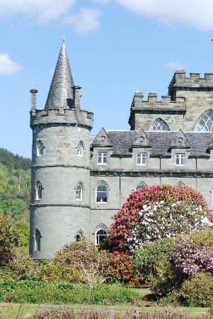 Claonairigh House: Inverary Castle just a few miles away