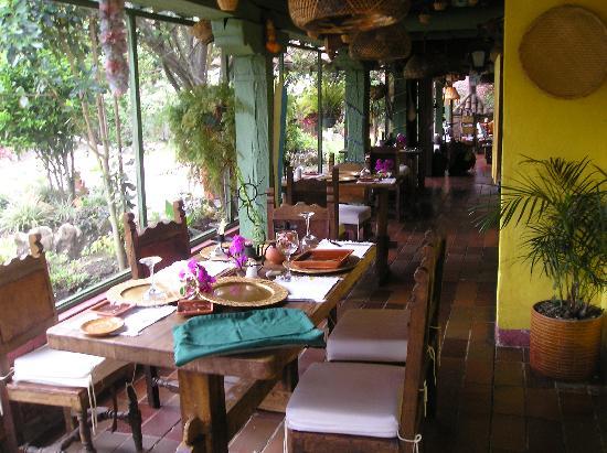 Hotel Boutique Iguaque Campestre: RESTAURANTE MUY TIPICO