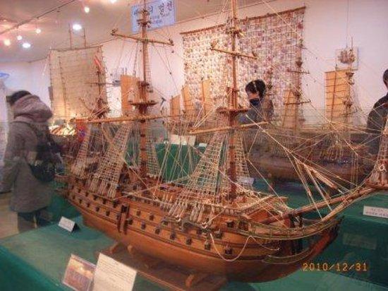 The world Modelship Exhibition Hall: フランス海軍のミラージュ号