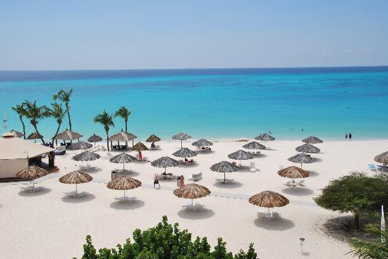Bucuti & Tara Beach Resort Aruba : Herrlicher Strand und türkisblaues Meer