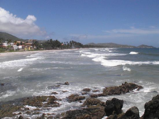 Playa el Agua, Venezuela: Die Küste