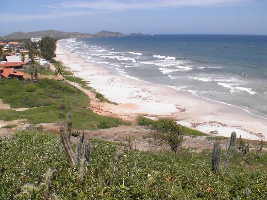 Playa el Agua, Βενεζουέλα: Ausblick von oben