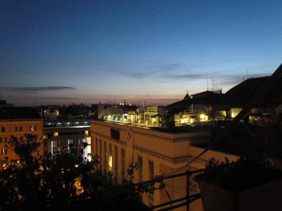 Hotel Impero: Terrasse sur le toit