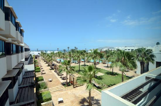 Sofitel Agadir Royal Bay Resort: View from our room (the cheapest ones)