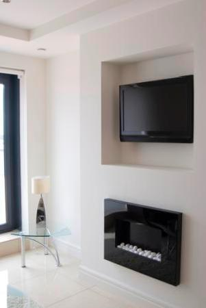 Western Citypoint Apartments: Living area