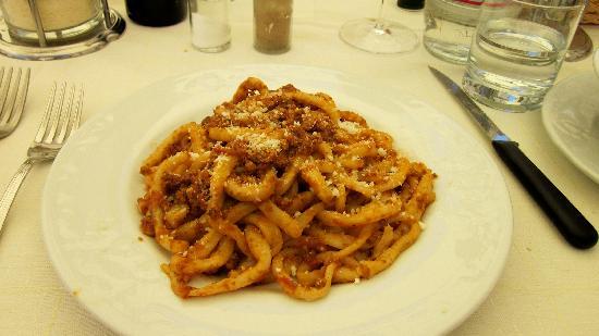 Sant'Angelo in Colle, Италия: Pici alla Ragu