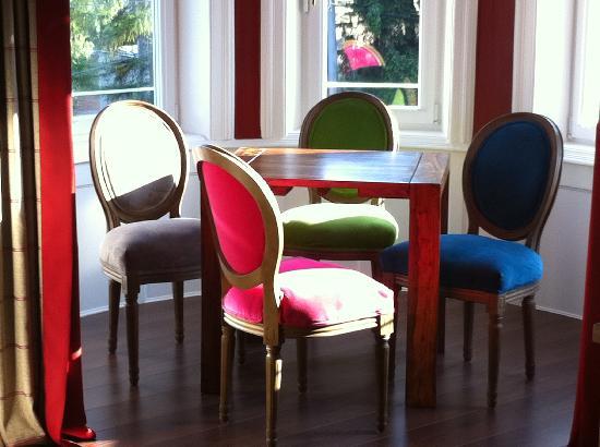 Hotel Villa Carlton: sitting corner in double superior bedroom