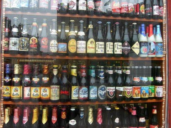 Ghent, Belgium: beer shop