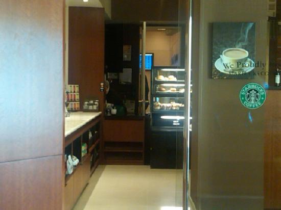 Dallas/Fort Worth Marriott Solana : Marriott Solana Starbucks