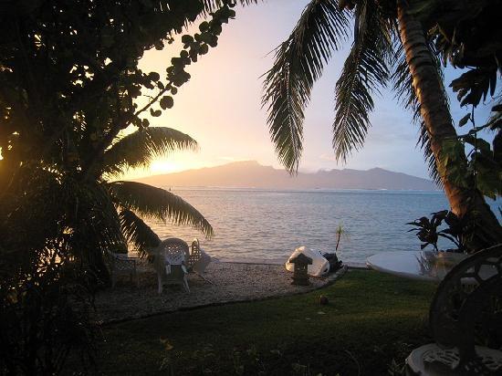 Atuana Lodge : Blick aufs Meer