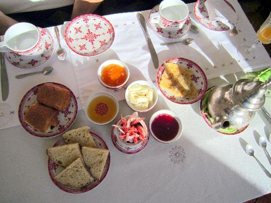 Riad Andalouse: breakfast
