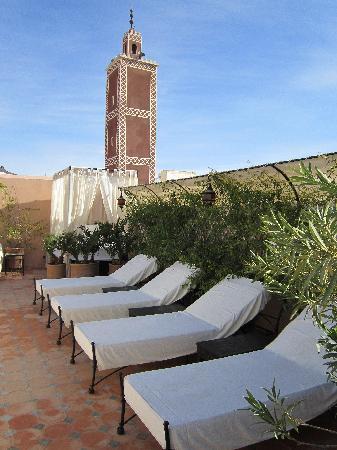 Riad Andalouse: terrace