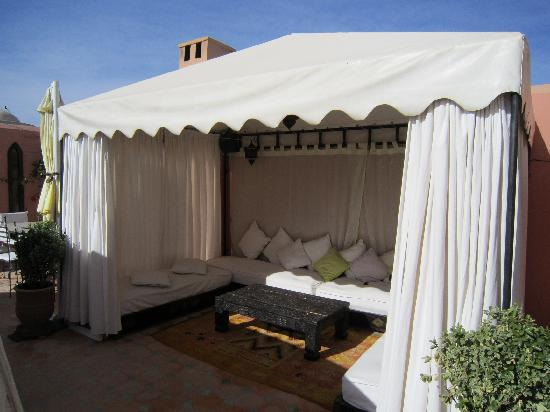 Riad Andalouse: terrace