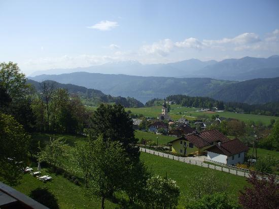 Naturhotel Alpenrose: Die geniale Aussicht