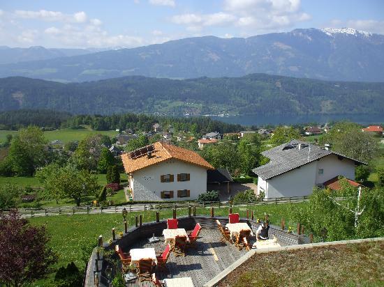 Naturhotel Alpenrose: Aussicht und Terrasse